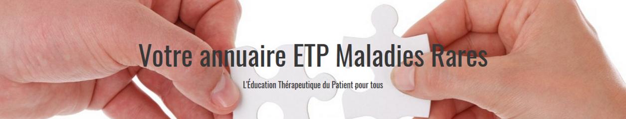 ETP maladies rares