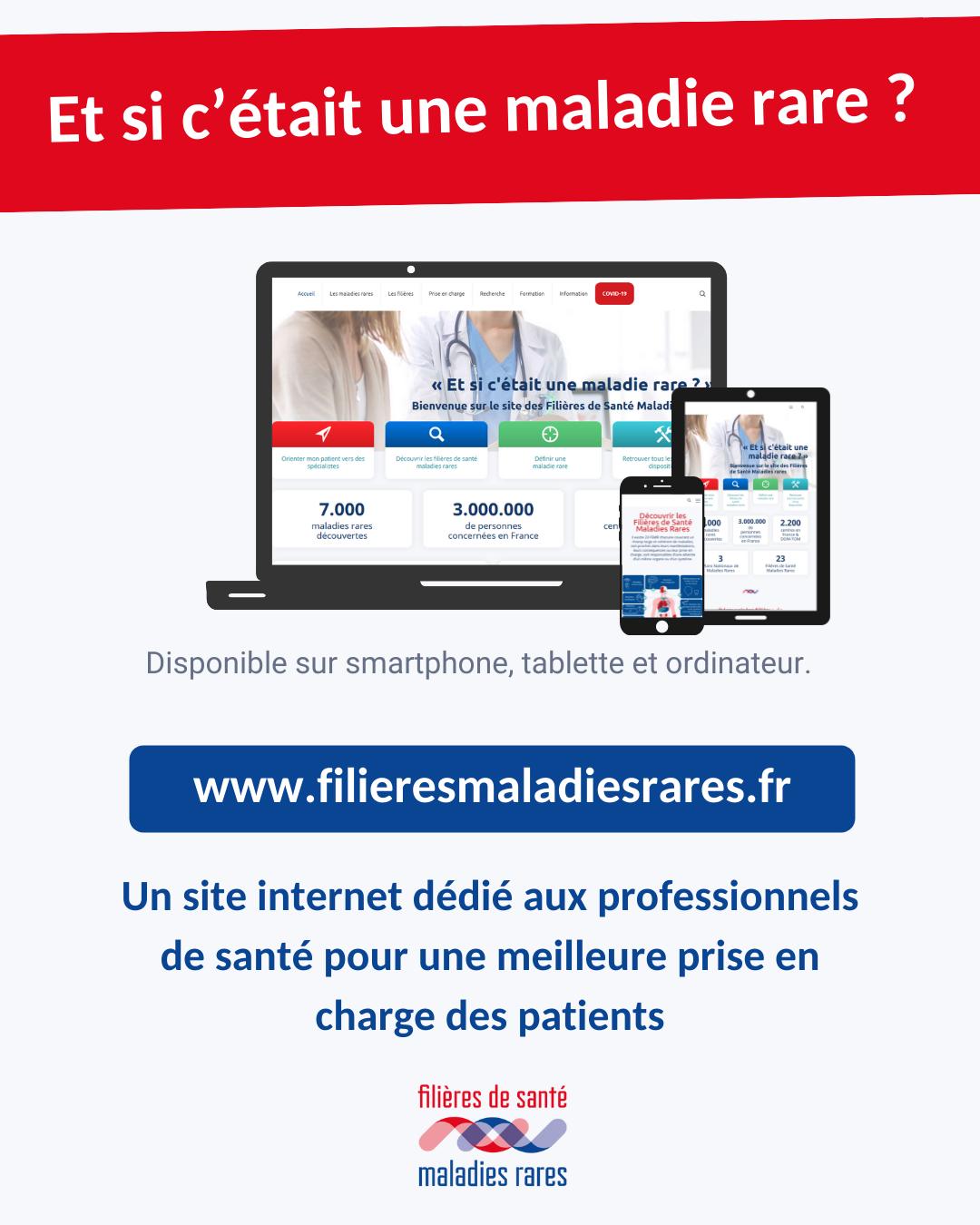 Lancement du site filieresmaladiesrares.fr pour une meilleure prise charge des patients
